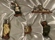 Disneyland 101 Dalmations Pongo And Friends Hand Painted Pewter Miniatures
