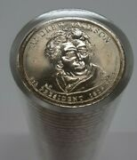 Roll Of 50 Never Circulated 2008-p Andrew Jackson Presidential Dollar Coins