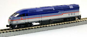 Kato 1766126dcc N Scale Mpi Virginia Railway Express With Dcc Mp36ph V52