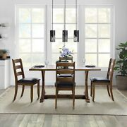 Dining Room Table Set For 4 Wood Modern Farmhouse Kitchen Table And Chairs Set