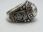 @ Silver 925 82nd Airborne Ring Americaand039s Guard Honor Army Ringsize 14