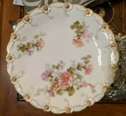 Antique 6 1/8 Limoges Bread And Butter Plate Bandh Blakeman And Henderson France