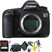 Canon Eos 5ds R Dslr Camera Body Only + 64gb Memory Card + Mega Accessory Kit