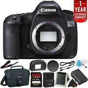 Canon Eos 5ds R Digital Slr Camera Body Only- Camera Bundle With 32gb Memory