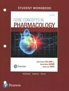 Core Concepts In Pharmacology Paperback By Holland Leland Norman Jr. Ph.d...