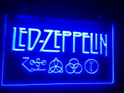 Led Zeppelin Bar Beer Club Pub Led Neon Light Sign Gift Home Decore Size 12 X 8