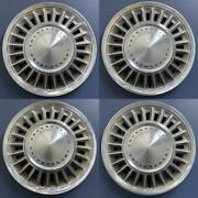 1967-1968 Ford Thunderbird 633 15 Hubcaps Wheel Covers Oem C7sz-1130a Set/4