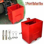 3 Point Ballast Box Category 1 Tractor And Loader Hitches Attachment Capacity