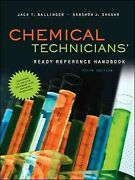 Chemical Techniciansand039 Ready Reference Handbook Hardcover By Ballinger Jack ...
