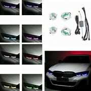 Bluetooth Control Multi-color Car Front Drl Angel Demon Eyes For Bmw 3 Series