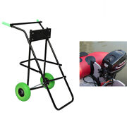 440 Lbs Outboard Motor Boat Stand Carrier Cart Dolly Storage Pro Heavy Duty Tool