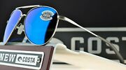 Costa Del Mar Cook Brushed Palladium W Glass Blue Mirror 580g Coo 21 Obmglp
