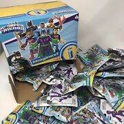 Lot Of 36 New Fisher Price Imaginext Dc Super Friends Series 4 W Display Case