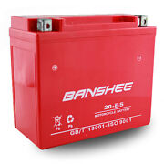 Banshee Replaces Agm Battery For Buell Ducati Harley Davidson Indian Ytx20-bs