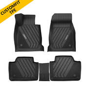 Floor Liners Mats For Bmw 3 Series 320i 328d 2013-2018 All Weather 3d Modeled
