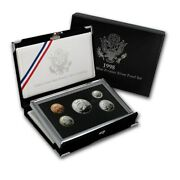 1998 United States Mint Premier Silver Proof Set With All Boxes And Coa..