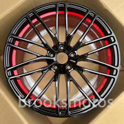 23 New Forged Wheels Rims Fit 2016+ Audi Q7 Q8 Rs Q8 23x10 Offset18 Red