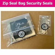 Gift Bag / Jewellery Packaging Security Seals Choose Your Sticker Size
