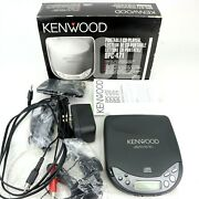 Vintage 1996 Kenwood Dynamic Shock Proof Portable Cd Player Dpc-471 - In Box