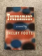 Vintage 1949 First Edition Tournament By Shelby Foote, Hardcover Book Dial