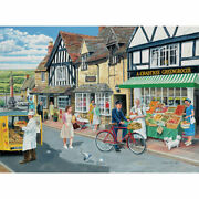 Bits And Pieces Puzzles Letters For The Greengrocer 500 Piece Jigsaw Puzzle Used