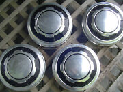Vintage Ford 16 In Pickup Truck Dog Dish Center Caps Hubcaps Wheel Cover 3/4 Ton