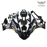 Gl Matte Black Shark Teeth Fairing Fit For Bmw 2009-2014 S1000rr Injection S007
