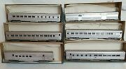 Athearn Ho Nyc 6-car Streamline Passenger Set Coach Diner Baggage Rpo + W/ Kdand039s