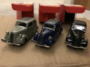 3 X Rare Somerville 503 Ford 8-7y 1937 Models No 12 And 3 Of 500 Opportunity