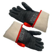 1 Pair 932℉ Extreme Heat Resistant Cooking Oven Gloves Neoprene Grill Bbq Mitts