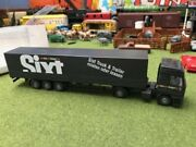 Wiking Tractor Trailer Nice Used In Box Ho Scale Lorry Made In Germany Read
