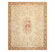 8and039 X 10and039 Asmara Hand Woven French Aubusson Classic Pictorial Flatweave Area Rug