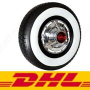 15 Tire Insert Rubber Trim Port A Wall Fake White Wall 3 Wide New Set Of4 ❗️❗