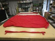 Rinker 246 2018 Radar Arch Red Bimini Top Cover And Boot 114902003 Boat