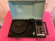 Vintage Wards Airline Solid State Cordless Phono / Radio Model 777b Needs Repair