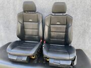 ✔mercedes W218 W212 Cls63 E63 Amg Front Sport Leather Seats Seat Cushion Set Oem