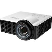 New Optoma Ml750st 3d Ready Dlp Projector 720p Hdtv 1610 Front Led 20000 Hour