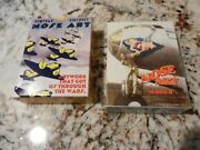 Nose Art Series 1 And 2 Box Ww2 Vintage Aircraft Card Sets Ex/nm Condition Planes