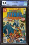 New Teen Titans 2 Cgc 9.8 White Dc 1980 1st Appearance Deathstroke Newstand