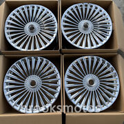 22 New Staggered Forged Style Wheels Rims For Mercedes Benz W222 S Cls Class