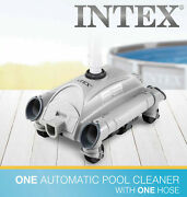 ⭐️ Intex 28001e Automatic Above Ground Swimming Pool Vacuum Cleaner Free Ship ⭐️