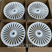 23 New White Staggered Forged Wheels Rims Fits For Mercedes Benz Gls Class