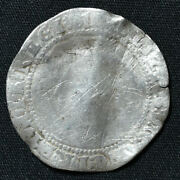 1601 Elizabeth I, 7th Issue, Sixpence, London, Mm 1, S-2585, N-2015