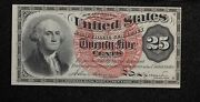1864 Us 25 Cents Fractional Currency Fr-1301 Fourth Issue Cu 1vyk