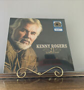 Kenny Rogers - 21 Number Ones 2lpand039s Metallic Gold Vinyl Greatest Hits
