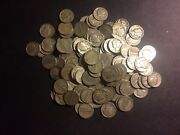 90 Us Mint Silver Coin 1 Pound Mercury Dimes Only Pre 65 One