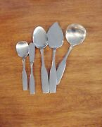 Oneida Community Stainless Paul Revere 5 Serving Pieces