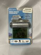 Easy-to-read Weather-resistant Outdoor Digital Window Thermometer