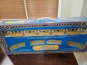 Disney Parks Disneyland Monorail Playset Gold Color New