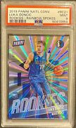 2018-19 Rc Luka Doncic National Convention Gold Rookies Rainbow Spoke Psa 31/50